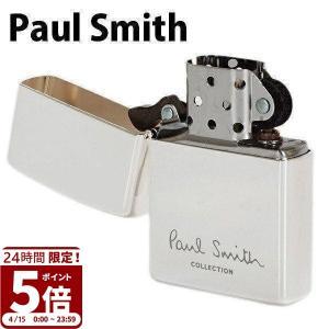 ポールスミス ライター ジッポ ZIPPO ジッポー ライター オイルライター ロゴ シルバー 554-819-800 名入れ 父の日|garlandstore