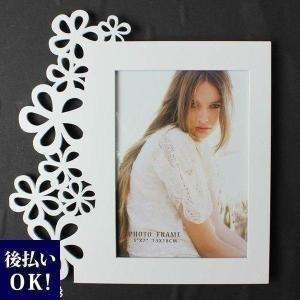 フラワーアレンジメント資材・花材 フォトフレーム花柄 縦 Plus Heart プラスハート|garlandstore