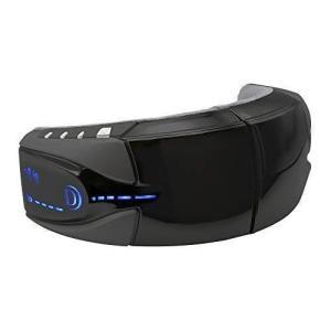 ドクターエア 3DアイマジックS EM-03 (ブラック) | 目元ケア 「振動」「加圧」「温め」で...