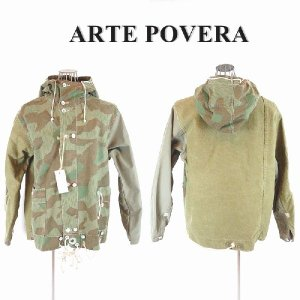 ARTE POVERA(アルテポーヴェラ),リメイク迷彩 ミリタリージャケット|garo1959
