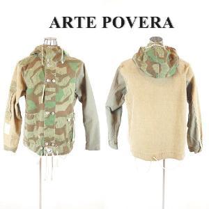 ARTE POVERA(アルテポーヴェラ) リメイク迷彩 ミリタリージャケット|garo1959