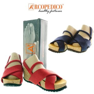 ARCOPEDICO  アルコペディコ  SALCO 3  サルコ 3    3641   06 RED / 09 NAVY   レディースサンダル |garo1959