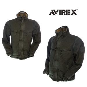 AVIREX アビレックス QUILT MILITARY JACKET キルティングミリタリージャケット 6142201  53 カーキ|garo1959