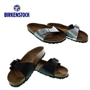 BIRKENSTOCK  ビルケンシュトック  0040793 / 0040413  Madrid   マドリード  Black / Silver  コンフォートサンダル|garo1959