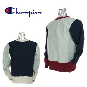 Champion チャンピオン C3-Q015 REVERSE WEAVE CREW NECK SWEAT SHIRTS リバースウィーブクルーネックスウェットシャツ |garo1959