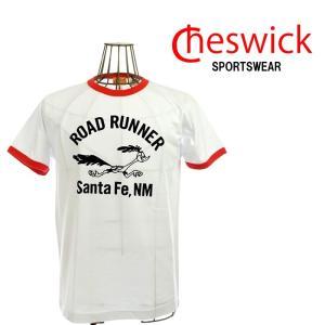CHESWICK チェスウィック Santa Fe,NM TEE CH77300 101ホワイト ロードランナー|garo1959