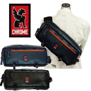 CHROME  クローム KADET  カデット BG-189-BKBK-NA-NA/BG-189-NWR-NA-NA   BLACK/BLACK , INDIGO/WRENCH  ボディバック ウエストバック|garo1959