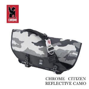 Chrome Citizen Reflective  Camo Messenger Bag|garo1959