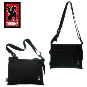 CHROME クローム BG245 MINI  SHOULDER BAG  ミニショルダーバッグ  BLACK サコッシュバッグ|garo1959