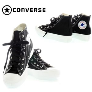 CONVERSE  コンバース  ALL STAR PLTS MS COLORS HI  5CK377 BLACK レディース スニーカー|garo1959