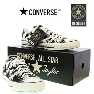 CONVERSE  コンバース  ALL STAR  オールスター  1CK 944 100 SUMIE OX  墨絵  WHITE/BLACK|garo1959