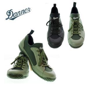 DANNER ダナー WRAPTOP LIGHT 3 ラップトップ ライト3 D219104 BLACK/OLIVE ユニセックス レインシューズ|garo1959