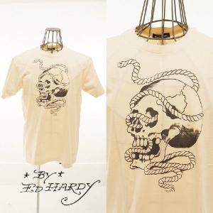 EdHardy エドハーディー Skull/Rope Tee デッドストック|garo1959