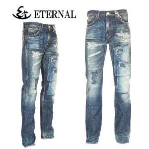 ETERNAL エターナル 53959 リアルユーズド リメイクデニム テーパードジーンズ Made in Japan|garo1959