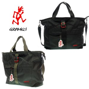 GRAMICCI グラミチ   2WAY TOTE&SHOULDER   トート&ショルダー  GRB-0003   BLACK/GRAPHITE|garo1959