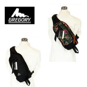 GREGORY グレゴリー 65586/65593 SWITCH SLING  スイッチスリング BLACK /GARDEN TAPESTRY ボディバッグ|garo1959