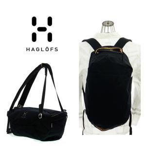 HAGLOFS  ホグロフス CD0798   BODA ボダ   TRUE BLACK  2WAYバック ショルダー バックパック|garo1959