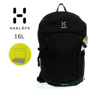 HAGLOFS  ホグロフス  338139  SALG MEDIUM   TRUE BLACK   16L   リュック デイパック|garo1959