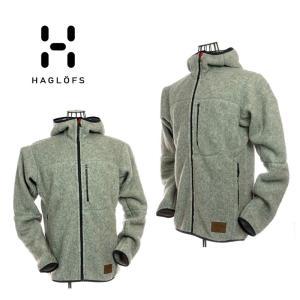 Hagrofs ホグロフス 604137 Pile Hood Men Grey Meiargr ボアフリースパーカー グレイ アウトドア|garo1959