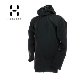 Haglofs ホグロフス 603608 Idtjarn Jacket Men イーチャンジャケット True Black ブラック メンズ ナイロン|garo1959