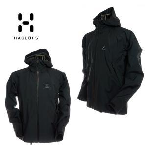 Haglofs ホグロフス 604209 Virgo Jacket Men True Black ナイロンジャケット ゴアテックス ブラック|garo1959
