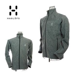 Haglofs ホグロフス 603725 Swook Jacket Men スォックジャケット Concrate/True Black フリースジャケット |garo1959