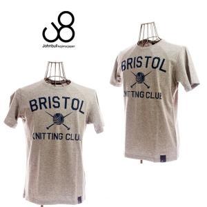 johnbull ジョンブル BRISOL TEE 25008 33 GRAY メンズ Tシャツ|garo1959