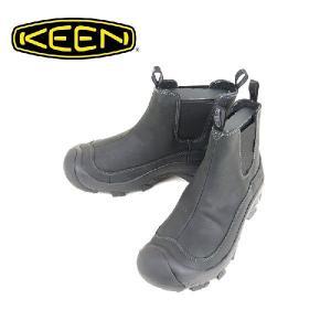 KEEN(キーン)Anchorage Boot(アンカレッジ ブーツ)Black/Gargoyle(ブラック/ガーゴイル)|garo1959