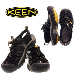 KEEN キーン NEW PORT H2 ニューポートエイチツー 1001907  BLACK  メンズ サンダル|garo1959