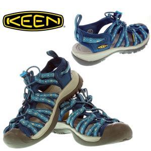 KEEN キーン レディース WHISPER ウィスパー 1014206 POSEIDON/BLUE DANUBE サンダル|garo1959
