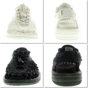 KEEN キーン UNEEK ユニーク 1014100/1014099/101498/1014097 STAR WHITE BLACK/BLACK メンズ レディース|garo1959|04