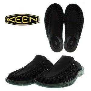 KEEN  キーン  UNEEK SLIDRE  ユニーク スライド  1017218   BLACK/BLACK   サンダル スリッポン garo1959