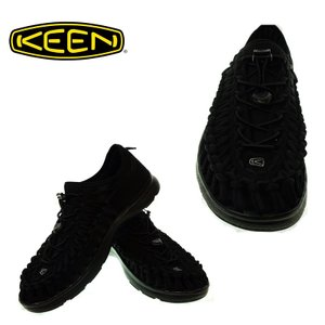 KEEN  キーン  1018709  UNEEK 02  ユニークオーツー   BLACK/BLACK   メンズサンダル|garo1959