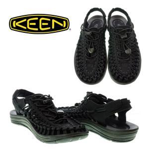 KEEN キーン 1014099 UNEEK ユニーク BLACK/BLACK レディース サンダル スニーカー|garo1959