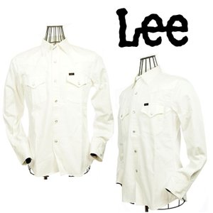 Lee リー デニム ウエスタンシャツ LT0500-118 118ホワイト|garo1959