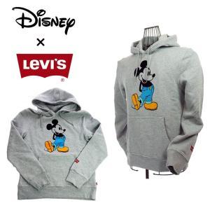 Levi`s×MICKY MOUSE  194910043 ディズニーコレクション グラフィックフーディー MICKEY パーカー|garo1959
