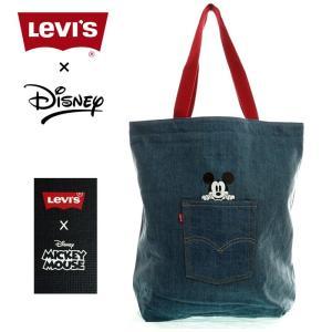 Levi`s×MICKEY MOUSE  リーバイス×ミッキーマウス 380040118  ディズニーコレクション デニムトートバック   LICFFC15|garo1959