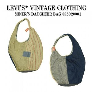 LEVI'S〓 VINTAGE CLOTHING MINER'S DAUGHTER BAG WOSL 0989200010|garo1959