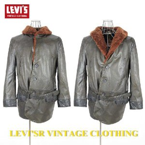 LEVI'SR VINTAGE CLOTHING イタリア製 1930's Coat Leather|garo1959