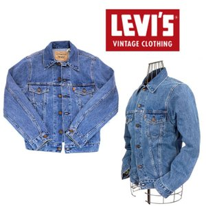 LEVIS VINTAGE CLOTHING 1970s トラッカージャケット/ミディアムストーン/MADE IN THE USA 【ORANGE TAB】72351-0003|garo1959