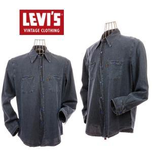 LEVI`S VINTAGE CLOTHING リーバイスヴィンテージクロージング 66610-0007 1960s シャンブレーシャツ|garo1959