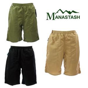 MANASTASH マナスタッシュ   RIVER SHORTS リバーショーツ  7176016   73 SAGE / 09 BLK / 53 KHAKI|garo1959