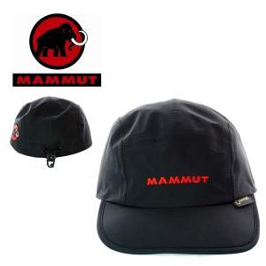 MAMMUT  マムート  1090-05970  GORE-TEX  Pocketable Cap  ゴアテックス ポケッタブルキャップ  black|garo1959