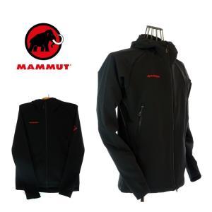 MAMMUT マムート 1010-23000 SOFtech CLIMB Light Hooded Jacket Men ソフテック クライムライト フーデッドジャケット メン 0001 black|garo1959