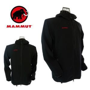 MAMMUT マムート 1010-25440 SOFtech GRANITE hooded Jacket Men ソフテック グラナイト フーデッドジャケット メン 0001 black|garo1959