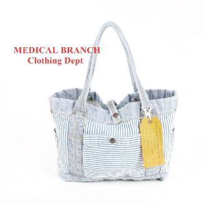 MEDICAL BRANCH Clothing Dept ヒッコリートートバッグ|garo1959