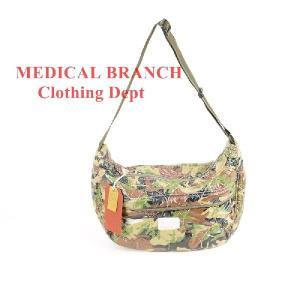 MEDICAL BRANCH Clothing Dept 9078 ショルダーCAMO BROWN|garo1959