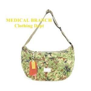 MEDICAL BRANCH Clothing Dept 9078 ショルダー CAMO-GREEN|garo1959