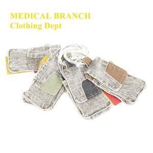 MEDICAL BRANCH Clothing Dept カラビナ付き スマフォ・携帯ポケット|garo1959