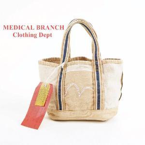MEDICAL BRANCH Clothing Dept デニム ミニ トートバック|garo1959